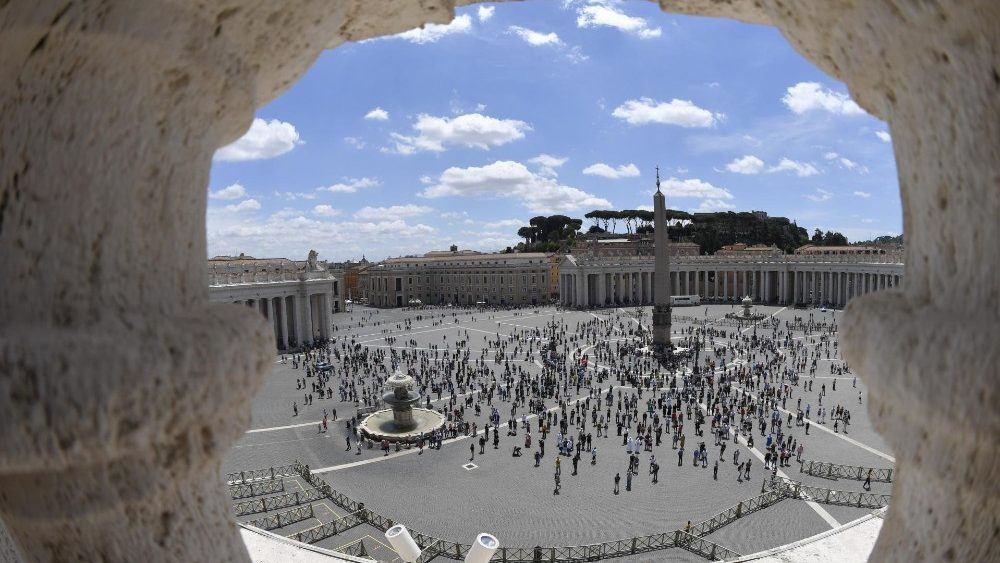 7. lipnja 2020. - Papin nagovor prije i nakon molitve Anđeo Gospodnji