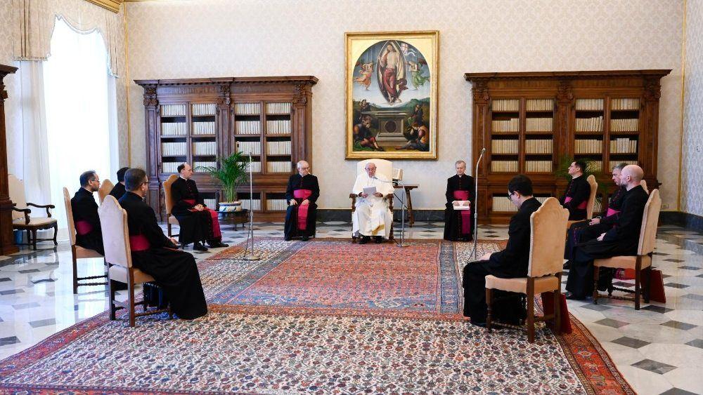 24. lipnja 2020. - Papina kateheza na općoj audijenciji u srijedu