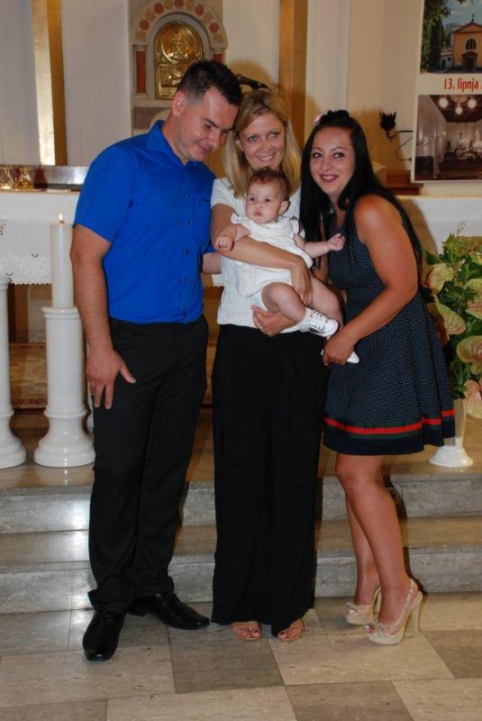 18. srpnja 2020. - Sakrament Krštenja Laure Jukić
