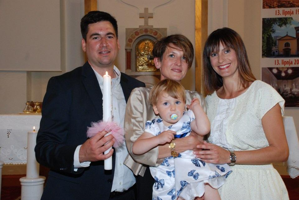 18. srpnja 2020. - Sakrament Krštenja Lore Zrinski