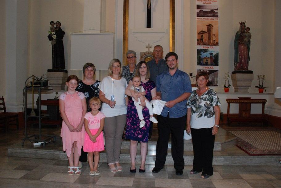 1. kolovoza 2020. - Krštenje Leonarda Poropat