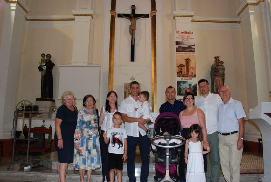 12. kolovoza 2020. - Krštenje Natanaela Lea Medić