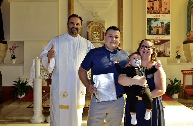 19. rujna 2020. - Krštenje Davida Vurdelje