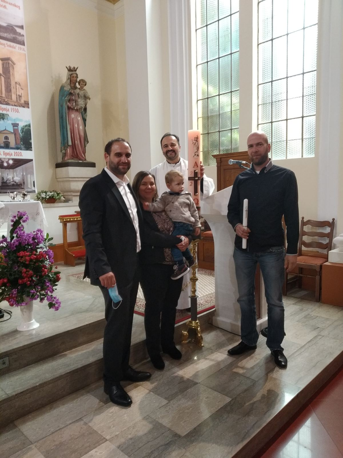 14. studenog 2020. - Krštenje Davida Kirinčića
