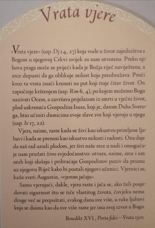 20. prosinca 2020. - Krštenje Marte Vidas