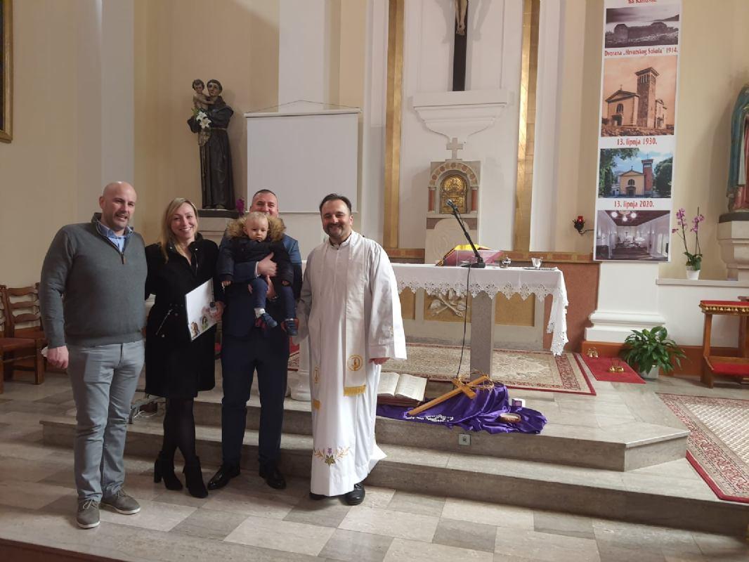 21. veljače 2021. - Krštenje Leona Babića