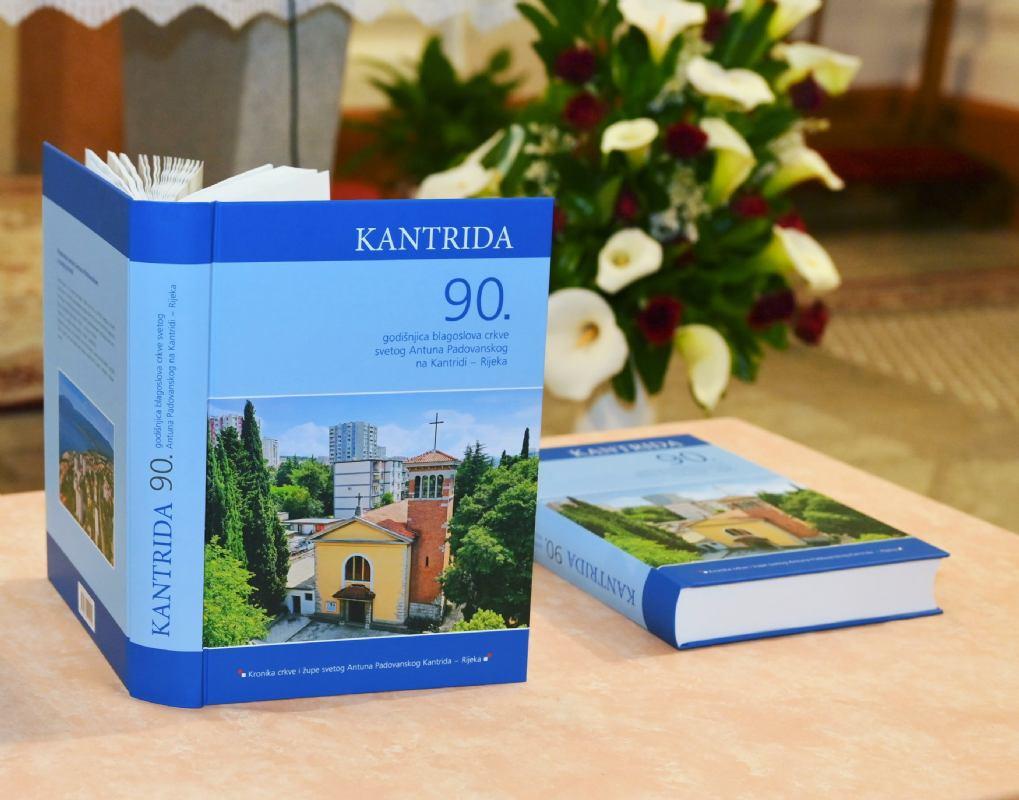 Program predstavljanja Monografije župe  sv. Antuna Padovanskog na Kantridi