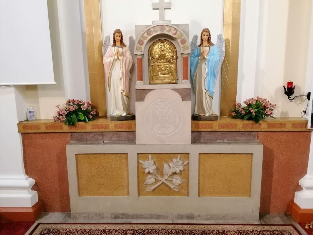 Blagoslov nove svečane misnice i oltarnih kipova anđela